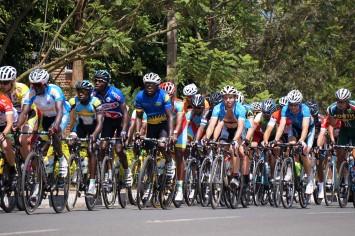 Peloton der Tour of Rwanda