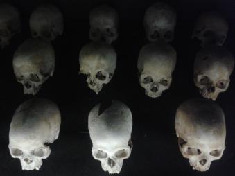 Ermordete Tutsi in Nyamata