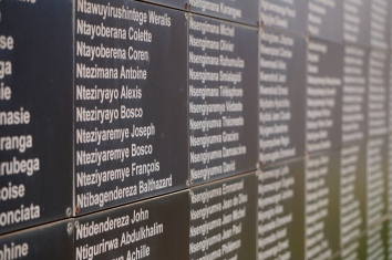 Gedenktafel in Kigali