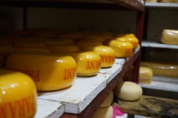 Hier ruht der Käse