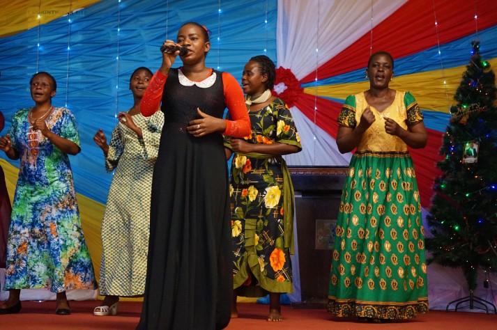 Margaret und ihr Worship Team