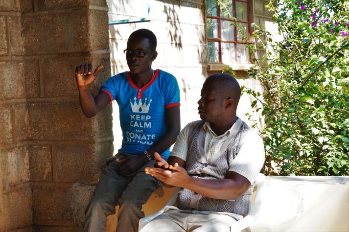 Musa und David im Gespräch