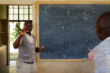 David im Unterricht
