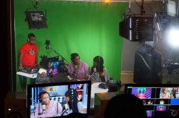 Interview im Studio
