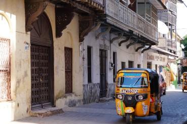 Tuk-Tuk in Mombasas Altstadt