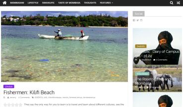 Blogeintrag Life in Mombasa
